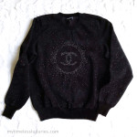 CHANEL 17A Metiers d'Art Paris-Cosmopolite Knit Pullover Sweater 38 FR *New