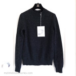 CHANEL 17A Paris-Cosmopolite Cashmere Pullover 36 FR *New
