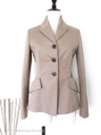 DIOR 2019 Cruise Structured Cotton Bar Jacket 34 FR Dk Beige