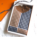 HERMES Prefall 2019 Esprit Casaque 100% Cashmere Sweater 36 FR