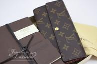 LOUIS VUITTON Monogram Leopard Sarah Wallet Blanc Corail #CA5110