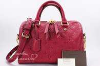LOUIS VUITTON Empreinte Speedy Bandouliere 25 Rose Jaipur #SP2103