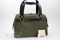 LOUIS VUITTON Monogram Mini Josephine PM TST Khaki #VI1012