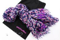 LOUIS VUITTON  Bleu Nuit Leopard Sprouse Cashmere/ Silk Stole Scarf *New