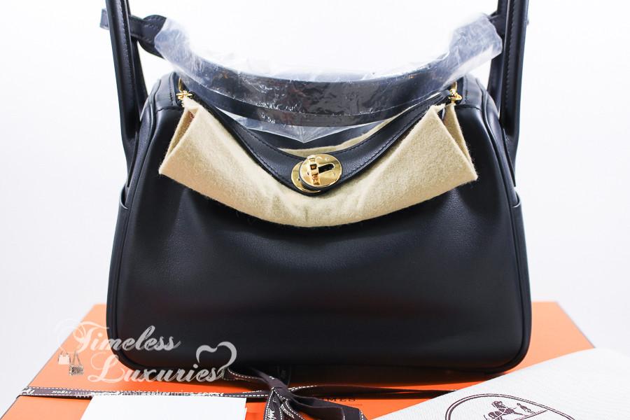157052f81dc5 HERMES Lindy 26 Verso Bleu Indigo  Orange Poppy Swift Gold Hw  New -  Timeless Luxuries