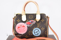 LOUIS VUITTON Monogram World Tour Nano Speedy #TR3196 *New