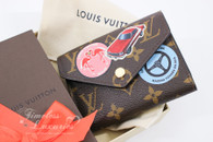 LOUIS VUITTON Monogram World Tour Victorine Wallet #SP4126 *New