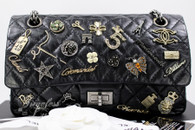 CHANEL Lucky Charms 2.55 Reissue 225 Flap Bag Ruthenium Hw #16885920