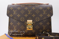 Louis Vuitton Monogram Canvas Pochette Metis MM #PL2168 *New