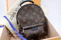 LOUIS VUITTON Monogram Palm Springs Backpack Mini #CA2198 *New