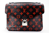 LOUIS VUITTON Monogram Infrarouge Pochette Metis MM Bag #DK0138