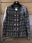 CHANEL 2014 Cruise 14C Double Breasted Fantasy Tweed Jacket 36 FR