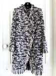 CHANEL 17A Metiers D'Art Paris Cosmopolite Tweed Coat 38 FR *New