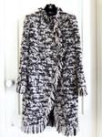CHANEL 17A Metiers D'Art Paris Cosmopolite Tweed Coat 38 FR *New