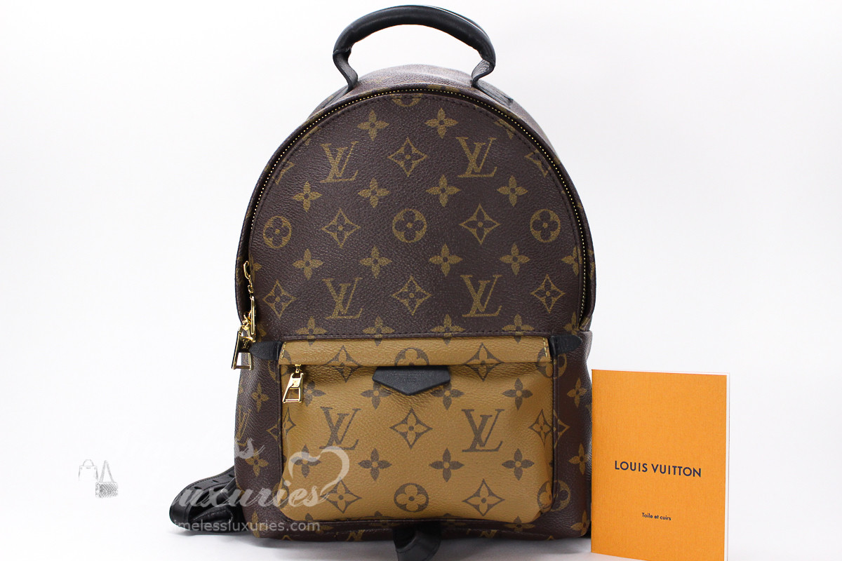 fc71dc3beede LOUIS VUITTON Monogram Reverse Palm Springs Backpack PM  FL5116 - Timeless  Luxuries