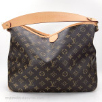 LOUIS VUITTON Monogram Delightful PM Shoulder Bag #FL3113