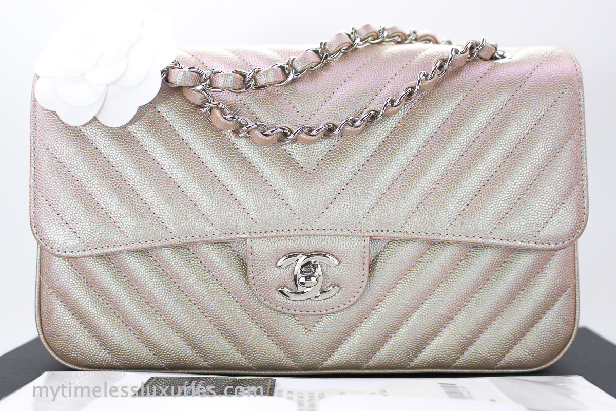 921b8b30 Chanel Medium Classic 2.55 Caviar Bag Silver Hardware | CFA Vauban ...
