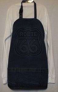 Route 66 Denim Apron (Made in the USA)