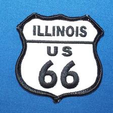 Illinois Route US 66 Patch