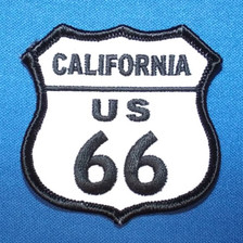 California Route US 66 Patch