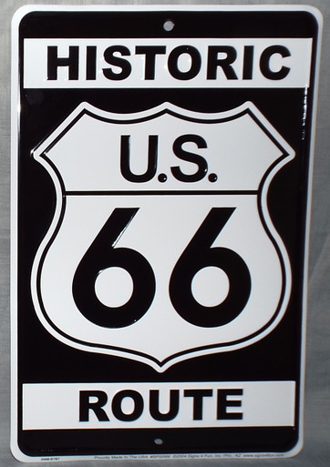 Historic Arizona US 66 Sign