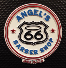 Angel's Barber Shop on Route 66 Magnet