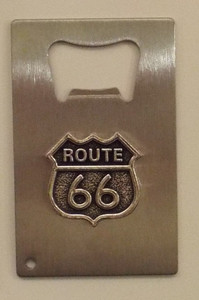 Route 66 Bottle Opener Made in the USA