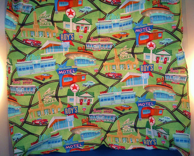 Green Route 66 Bandana Made in USA