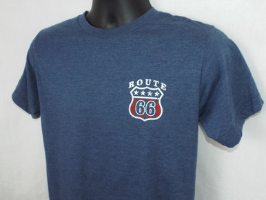 Route 66 Lyrics T-Shirt Front