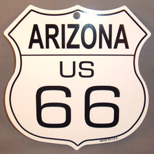 8 State Shield Set - Arizona US 66