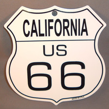 8 State Shield Set - California US 66
