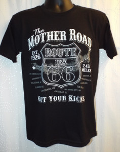 Route 66 Mother Road Get Your Kicks T-shirt