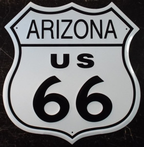Arizona 66 US Route 66 Metal Shield
