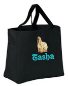 Afghan Hound Personalized Tote Bag