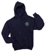 EMT EMS Embroidered  Hooded Sweatshirt