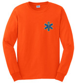 EMT Embroidered Long Sleeve T-Shirt