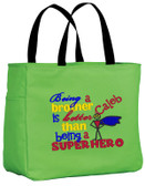 Kid's Superhero Big Brother Essential Tote Bag Personalized  - Embroidered