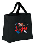 Kid's All Star Sports Essential Tote Bag Personalized  - Embroidered