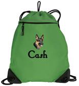 German Shepherd Cinch Bag