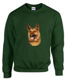 German Shepherd Crewneck Sweatshirt