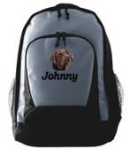 Chocolate Labrador Backpack