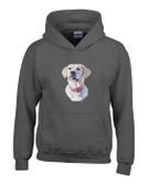 Yellow Labrador Hooded Sweatshirt