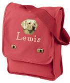 Yellow Labrador Retriever Field Bag