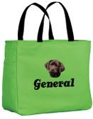 Chocolate Labrador Retriever Tote-Bag