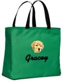 Yellow Labrador Retriever Tote-Bag