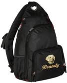 Yellow Labrador Retriever Sling Pack
