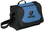 Black Labrador Retriever Messenger Bag