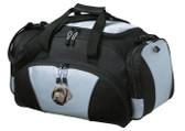 Black Labrador Retriever Duffel Bag