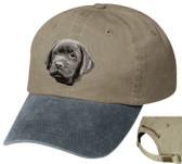 Black Labrador Retriever Cap