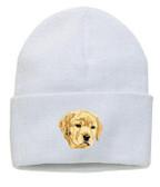 Yellow Labrador Retriever Knit Cap
